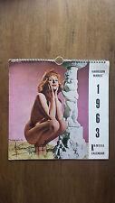 Harrison Marks – Kamera Calendar 1963 (1st UK 1962) Pamela Green etc