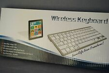 Bluetooth Tastatur weiss für Table Handy iPhone 4/4s/5 iPad 2/3  Keyboard