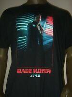 Men's S-L Black Blade Runner 2049 Officer K Ryan Gosling Sci-Fi Movie Tee Shirt