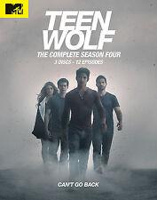 Teen Wolf . The Complete Season 4 . Tyler Posey . Crystal Reed . 3 DVD . NEU OVP
