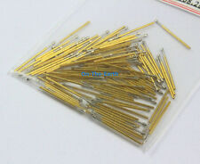 100 Pieces P50-T2 Dia 0.68mm Length 16mm Spring Test Probe Pogo Pin