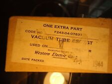 WESTERN ELECTRIC 6SC7GT USA NEW OLD STOCK IN SEALED PACKAGE VINTAGE VALVE TUBE