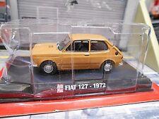 FIAT 127 braun brown Kleinwagen 1972 3 Türer Altaya IXO Auto Plus 1:43