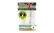 Decoy Y-S81 Treble Hook Heavy Duty Treble Hooks Size 6 (9517)