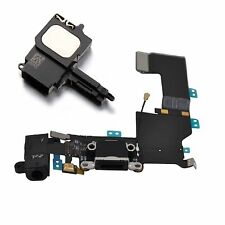 Replacement Black Charging Port Dock Connector With Loudspeaker For iPhone 5S