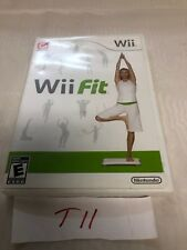 Wii Fit Game Only (2008) Nintendo Wii No Balance Board With Case