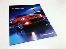 2008 Mazdaspeed 3 Brochure