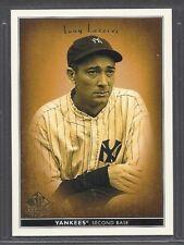 2002 SP Legendary Cuts - #83 - Tony Lazzeri - New York Yankees