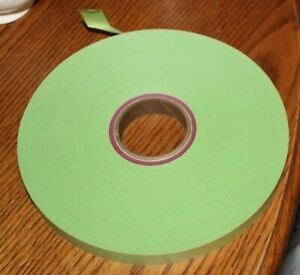 """Teletype Roll 11/16"""" Wide  Green Tape - NOS"""
