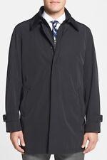 Nordstrom Men's Black 'Portland' Car Coat Sz Small $395 *i417