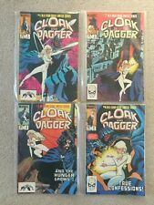 Cloak & Dagger Issues 1 - 4 Complete Limited Series (Marvel Comics)