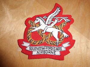 South staffordshire Regiment Airborne Blazer patch