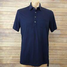RLX Ralph Lauren Mens golf polo shirt size M Short Sleeve Navy