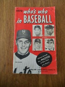 1970 WHO'S WHO IN BASEBALL 55TH EDITION TOM SEAVER NEW YORK METS