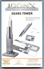 Metal Earth Iconx SEARS TOWER 3D Puzzle Mini Model