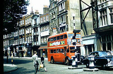 London 1960s Lot of 2 Double Deck Decker Buses 27a Highgate