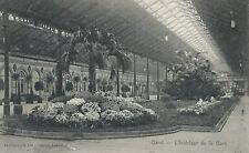 Gent Zuidstation Binnenzicht  -  Gand Gare du Sud Vue intérieure.