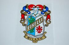 Cinelli FAN CLUBS cars stickers decals , 48X70mm