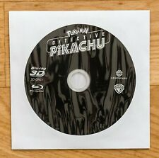 Blu ray 3D POKEMON DETECTIVE PIKACHU comme neuf