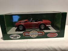 Britains/Ertl 7884 Triumph TR6 Convertible Red 1/18 Mint & Boxed