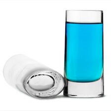 Veronese Oval Base Shot Glasses 2.6oz / 75ml X 6
