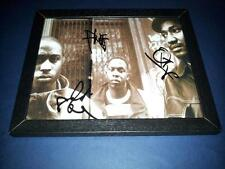 """A TRIBE CALLED QUEST PP SIGNED & FRAMED 10""""X8"""" INCH PHOTO REPRO Q TIP PHIFE"""