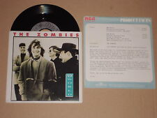 "THE ZOMBIES -New World- 7"" mit Product Facts Promo-Flyer"