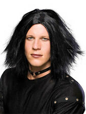 Emo Dark Lord Wig Vampire Goth Rock Star Dress Up Halloween Costume Accessory