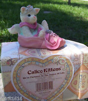 """New - Enesco Calico Kittens """"We're Partners in the Dance of Life"""" 314471S Ballet"""