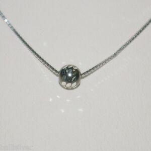 12pcs Rhodium Plated Sterling Silver 925 Box Chain and 6mm Diamond Cut BEADS Lot
