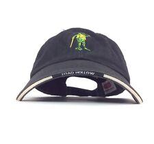 Toad Hollow Vineyards Healdsburg California Black Baseball Cap Hat Adj Adult Sz