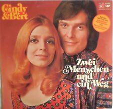 VINILE LP 33 GIRI RPM ZWEI MENSCHEN UND EIN WEG CINDY & BERT 1973