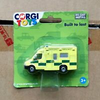 Corgi Toys 1/64 Diecast  Ambulance Model Alloy Rescue Vehicle Car TY63114 Toys