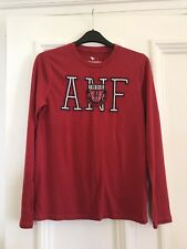 Abercrombie & Fitch Red Long Sleeve Top - Age 13-14