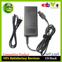 USB AC Adapter Charger for Lenovo Thinkpad T440p T460 T540p G500 Edge E560 CP