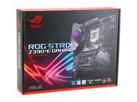ASUS STRIX Z390-E GAMING Motherboard ATX LGA 1151 USB 3.1 Gen2 4 Memory Slots