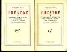 THEATRE. LUIGI PIRANDELLO. 9 VOLUMES.