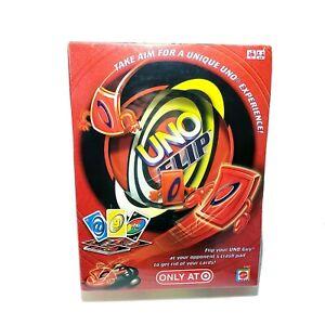Mattel UNO FLIP Card Game Target Exclusive Uno Guy 2009 Brand New Sealed
