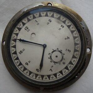 Zenith Marine Chronometer load manual all original run but need service