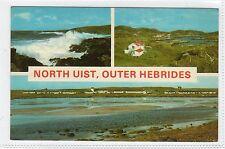 NORTH UIST, OUTER HEBRIDES: Islands Multiview postcard (C5084).