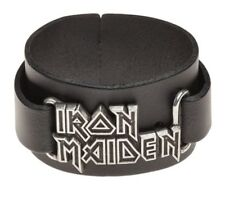IRON MAIDEN Real Leather Wriststrap Alchemy Rocks Official Band Merch Brand New