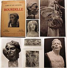 BOURDELLE/L ART ET LES ARTISTES/REVUE/N° SPECIAL/1923/SCULPTURE