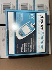 Assure Platinum Glucose Test Strip - Box of 100 Expiration Date 8/14/21 B9