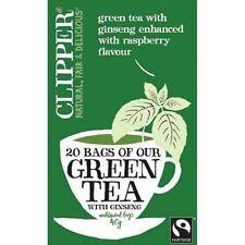 Clipper Green Tea & Ginseng-Fairtrade 20 SACCHI