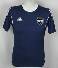 # 53 sportif bleu chemise football vallée Adidas rare jeunes XL USA