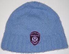 Lululemon Knit Winter Hat Tuque Toasty Toque Beanie Blue Women's
