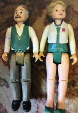 Fisher Price Nanny Grandad Rare Dolls House Figures
