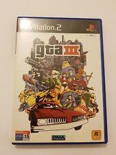 Gran Theft Auto III GTA 3 PlayStation 2  ps2 pal España y completo