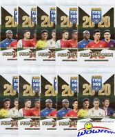 (10) 2020 Panini Adrenalyn XL FIFA 365 Factory Sealed Booster Packs-60 Cards!