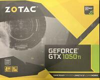 Zotac GeForce GTX1050ti Mini 4gb GPU Graphics Card in box ZT-P10510A-10L